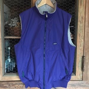 Patagonia Vest in Blue/Purple Size XL Vintage